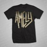 Amely Logo Black T-Shirt
