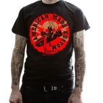 American Made Kustom Bombs Away Black T-Shirt