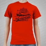 American Made Kustom Bitter End Red T-Shirt