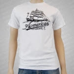 American Made Kustom Bitter End White T-Shirt