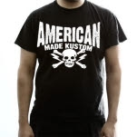 American Made Kustom Clampdown Black T-Shirt