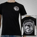 American Made Kustom Hellmet Black T-Shirt