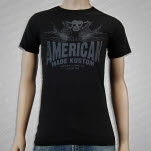 American Made Kustom Harry May Black T-Shirt