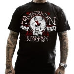 American Made Kustom Shitty Tattoos Black T-Shirt