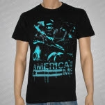 American Me Horror Black T-Shirt