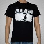 American Steel Bicycle Black T-Shirt