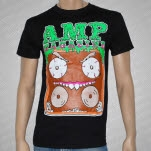 official AMP Magazine Boombox Guy Black T-Shirt