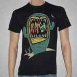 Anarbor Cactus Black T-Shirt