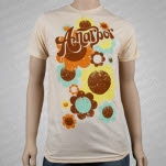 Anarbor Flower Power Natural T-Shirt