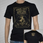 Angel City Outcasts Horse Black T-Shirt