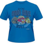 Angry Birds Star Wars Let The Good Side Roll T-Shirt