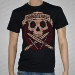 Another Hero Dies Daggers Black T-Shirt