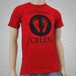 Anthony Green Footprints Red T-Shirt