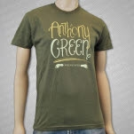 official Anthony Green Text Forest T-Shirt
