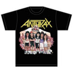 Anthrax Euphoria Group Sketch T-Shirt