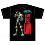 Anthrax I am the Law T-Shirt