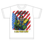 Anthrax I am the Law Vintage T-Shirt