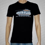 Anti Flag Tank Black T-Shirt