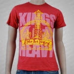 A Plea For Purging Kings Of Heavy Cardinal Heather T-Shirt