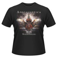Apocalyptica Worlds Collide T-Shirt
