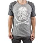 Arkaik Clothing Mammoth Skull GreyBlack T-Shirt