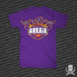 Arkaik Clothing Phoenix Purple T-Shirt