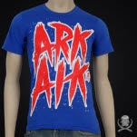 Arkaik Clothing Survival Text Royal T-Shirt