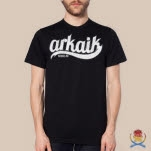 Arkaik Clothing Varsity Black T-Shirt
