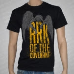Ark Of The Covenant Angel Grave Black T-Shirt
