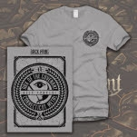 Ark Of The Covenant Crest Heather Grey T-Shirt