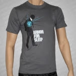 Armor For Sleep Blue Man II T-Shirt