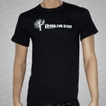 Armor For Sleep Tree Black T-Shirt