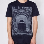 Art By Numbers Fallen Navy T-Shirt