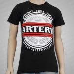 Artery Recordings Crown Black T-Shirt