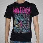 Artery Recordings Crazy Wolfpack Black T-Shirt