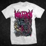 Artery Recordings Crazy Wolfpack White T-Shirt
