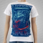 Artery Recordings Hungry Like The Wolf White T-Shirt