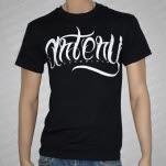 Artery Recordings Script Logo Black T-Shirt
