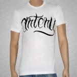 Artery Recordings Script Logo White T-Shirt