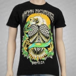 Artery Recordings Sacto Eagle Black T-Shirt
