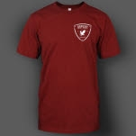 Artery Recordings Shield Maroon T-Shirt