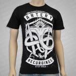 Artery Recordings Stay Gold Black T-Shirt