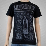 Artery Recordings Wolfpack Flash Black T-Shirt