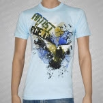 Artist vs Poet Birds Light Blue T-Shirt