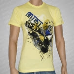 Artist vs Poet Birds Yellow T-Shirt