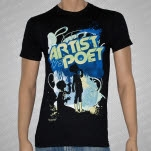 Artist vs Poet Children Black T-Shirt