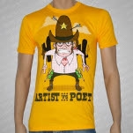 Artist vs Poet Cowboy Yellow T-Shirt