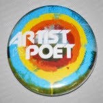 Artist vs Poet Logo Pin