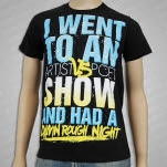 Artist vs Poet Rough Damn Night Black T-Shirt