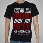 As Artifacts Bite Black T-Shirt